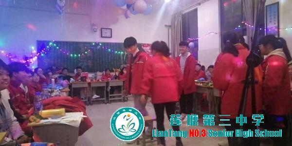 庆元旦,迎新年-----莲塘三中举办2020庆元旦文艺汇演活动