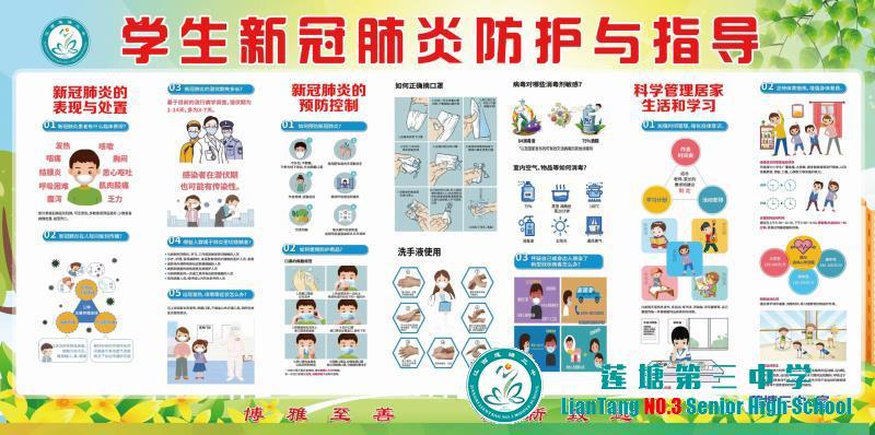 莲塘三中疫情防控-新冠肺炎防护与指导